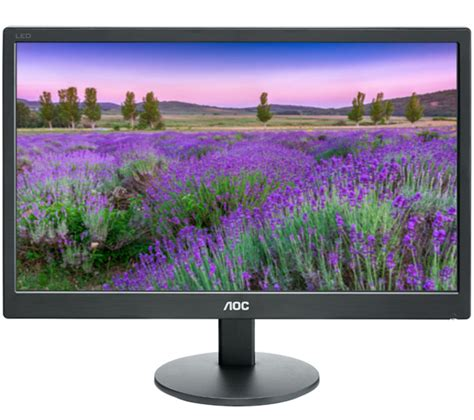 Led Monitor Laptop aoc e2070swn 19 5 quot led monitor deals pc world