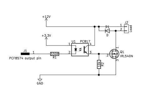 optocoupler transistor driver arduino mosfet switch using an optocoupler electrical