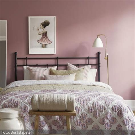 wandfarbe altrosa wandfarbe und bettw 228 sche in rosa