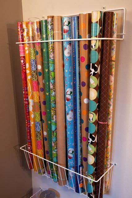 best way to gift wrap 11 ways to organize wrapping paper organizing made fun