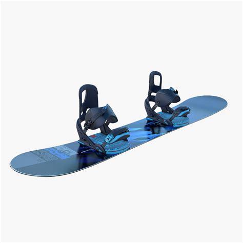 Burton 3d 3d model burton snowboard