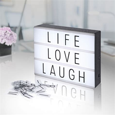 light up cinema box cinema light box diy letter display party shop wedding