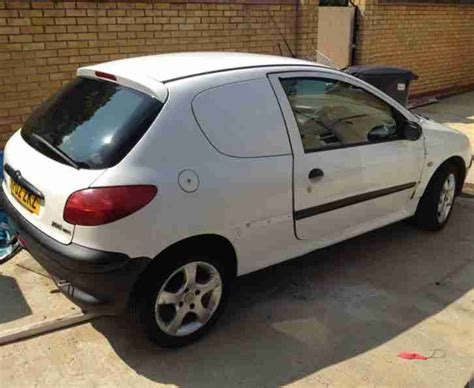 peugeot 206 vans for sale peugeot 206 hdi car derived for sale spares and