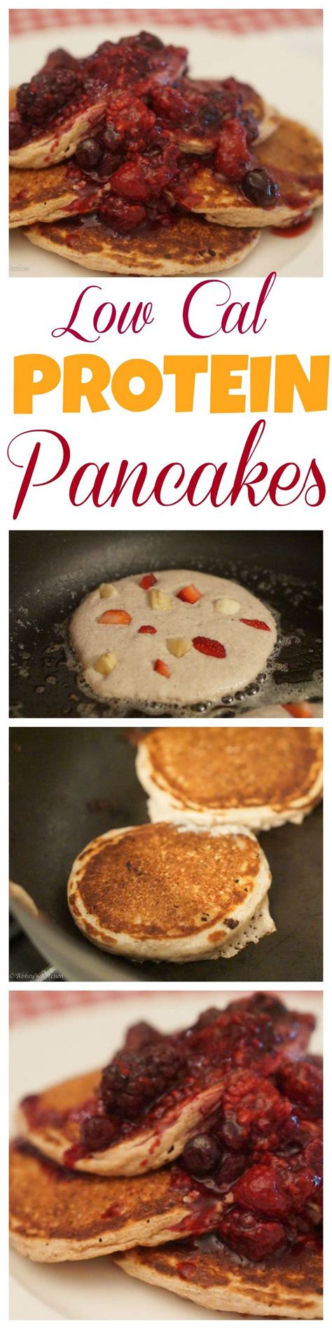high protein cottage cheese oatmeal pancakes with