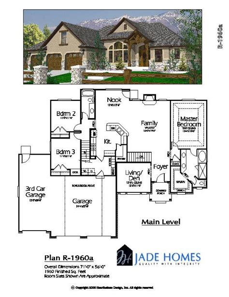 3600 square foot house ramblers over 3600 sq ft jade design center