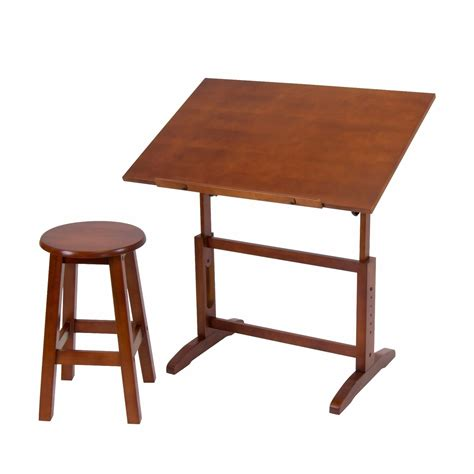 drafting table wood adjustable drafting table artist drawing architect