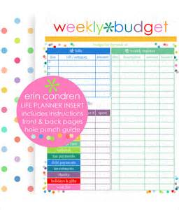 Weekly Monthly Budget Template Family Budget Template 5 Free Word Excel Documents