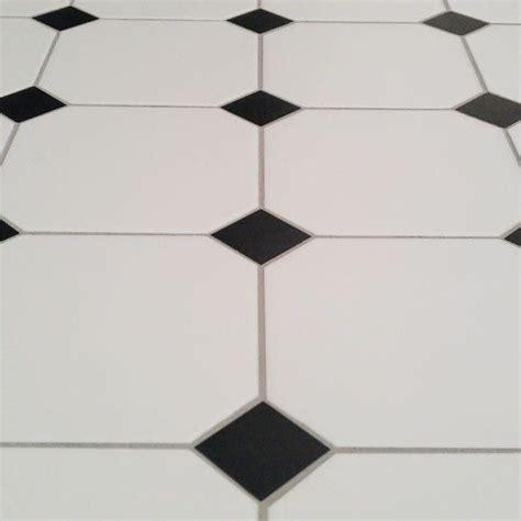 1 octagon shaped floor tiles octagon floor tile with black taco