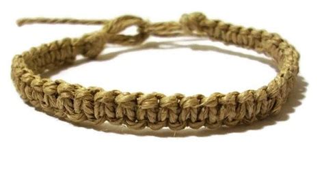 Macrame Knots Hemp - custom order for jodi macrame square knot hemp bracelet