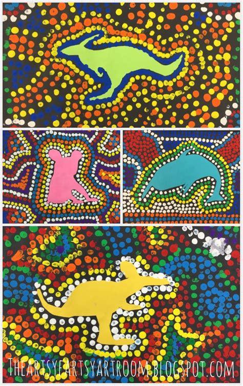 christmas art projects in austrailia the artsy fartsy room 3rd grade australian aboriginal dot 2015 artreach ideas