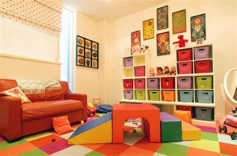 colorful kids playroom designs