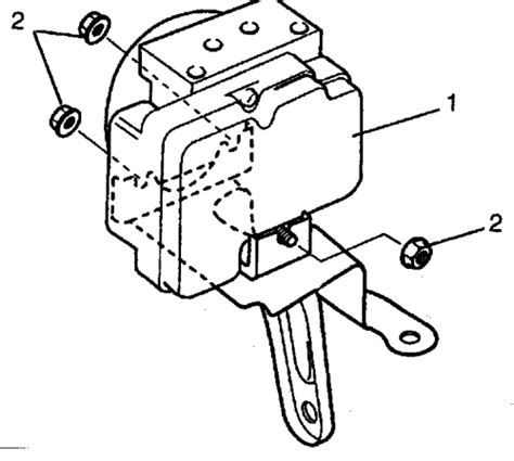 repair anti lock braking 1994 suzuki sidekick windshield wipe control repair guides anti lock brake system hydraulic control module autozone com