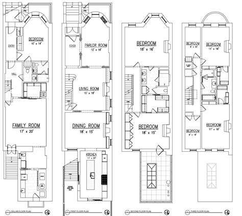 brownstone row house floor plans inspiring brownstone row house floor plans contemporary