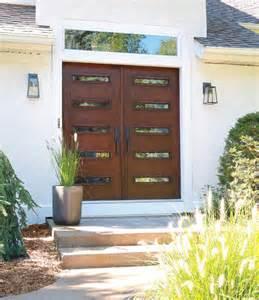 Contemporary Double Front Door mid century modern double doors contemporary front
