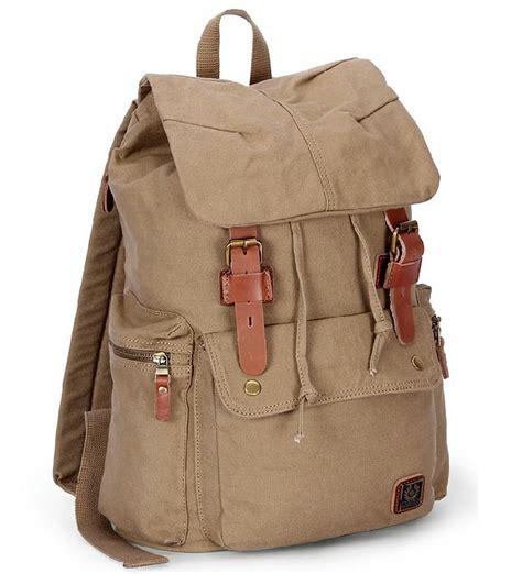 rucksack backpack canvas rucksack backpack cotton canvas bag yepbag