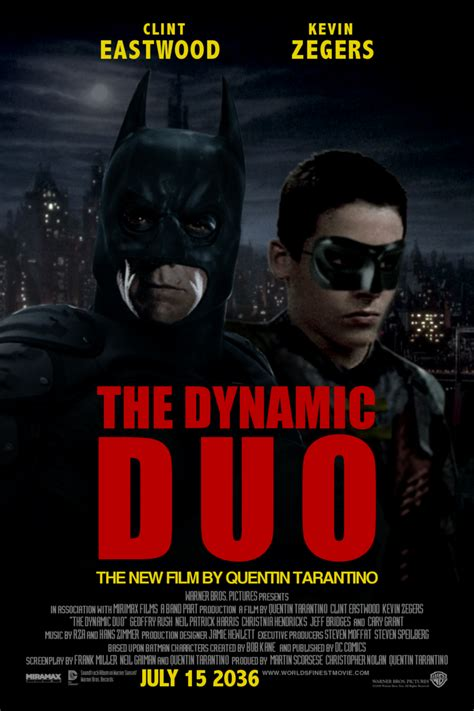 quentin tarantino new film the dynamic duo the new film by quentin tarantino by