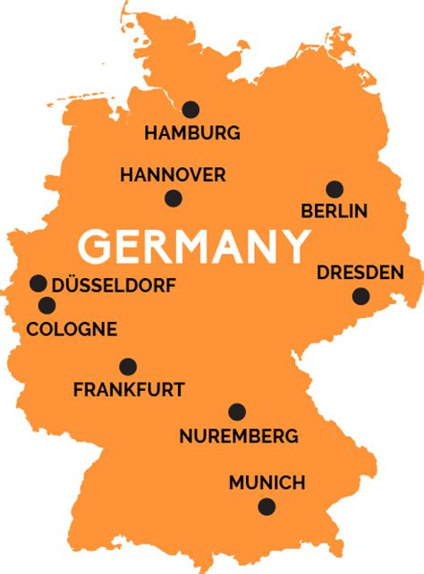 german map of germany map of germany railpass