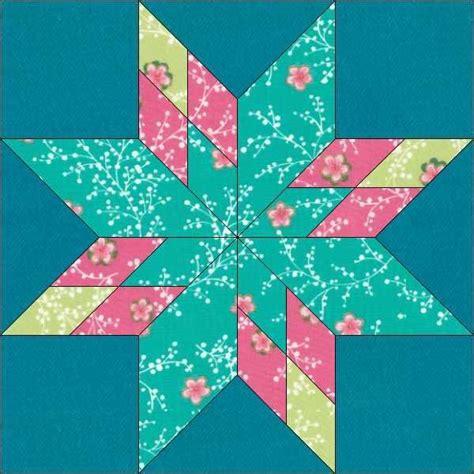 Star Block Pattern 12 Inch Block by OneDaisyStudio   Craftsy