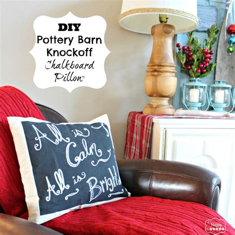 merry christmas chaulk board pottery barn diy chalkboard pillow pottery barn knockoff the happy housie