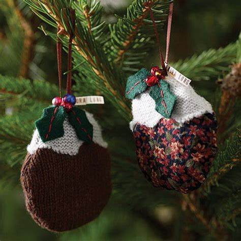decorations knitted 60 and cozy knitted decorations family