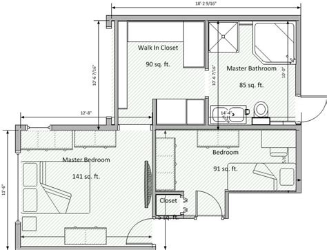 walk in closet floor plans 9 best master bathroom floor plans with walk in closet walls interiors