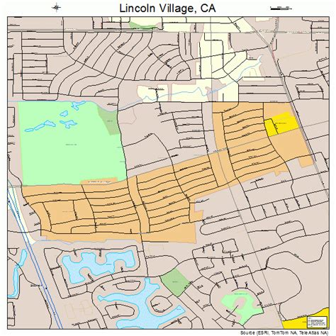 where is lincoln california on the map lincoln california map 0641558