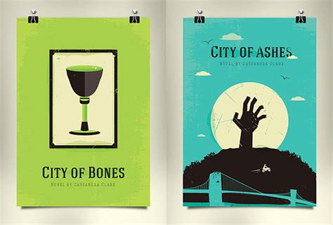 city of bones book report the mortal instruments redesigned book covers on behance