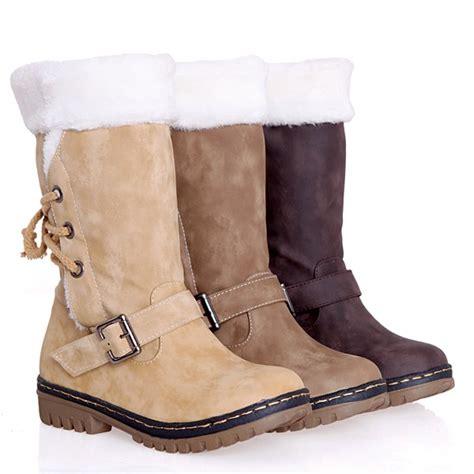 fashion snow boots retro fashion snow boots warm cotton boots leg winter