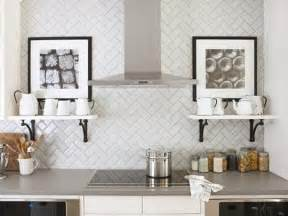 Tile Patterns For Kitchen Backsplash by Pattern Potential Subway Backsplash Tile Centsational