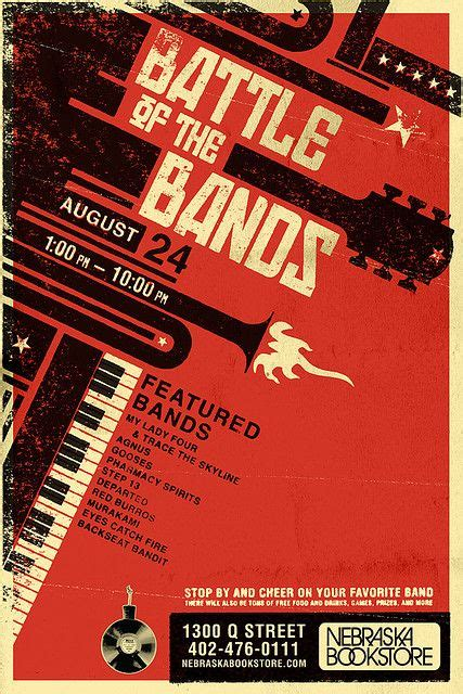 design poster band battle of the bands poster ideas pinterest