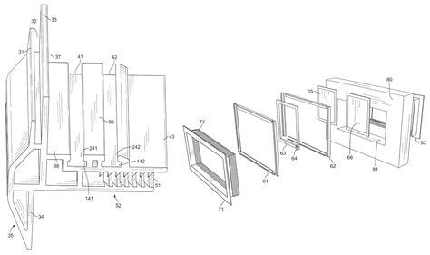 Patent Us7918063 Garage Door Window Google Patents Garage Door Window Frame