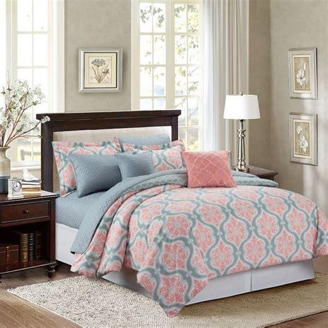coral and gray comforter best 25 coral bedspread ideas on pinterest coral and
