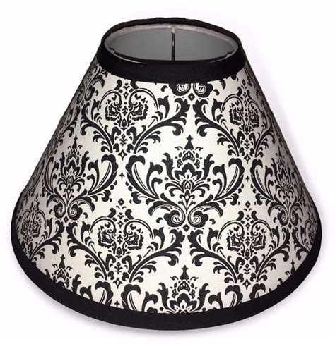Black And White Damask L Shade Bedroom by Black And White Damask Lshade Damask L Shade