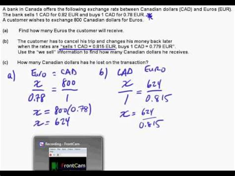 currency converter formula ib math studies currency conversions youtube