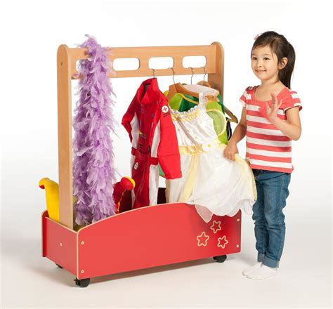 Dressing Up galaxy dressing up trolley wooden dressing up