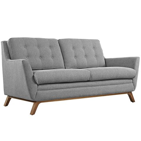 tufted loveseat gray beguile contemporary button tufted upholstered loveseat