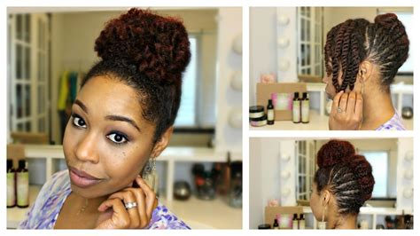 images of braids with french roll hairstyle natural hair braided french roll updo feat embrace the