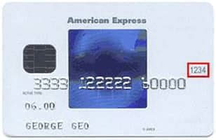 What Is The Security Code On American Express Gift Card - cvv cvv2 security code
