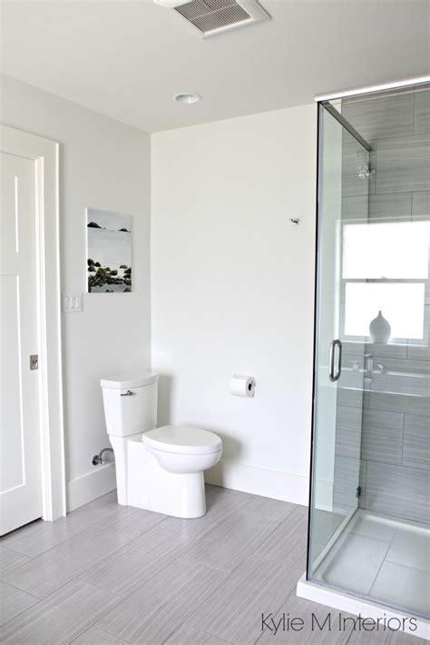 benjamin moore designer white a marble inspired ensuite bathroom budget friendly too