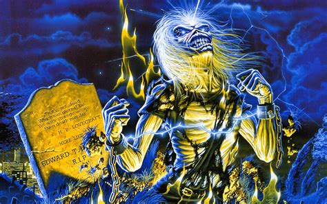 Derek Riggs Artwork by Iron Maiden Appreciation Thread Music Reviews
