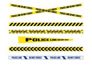 free police line vector download free vector art stock