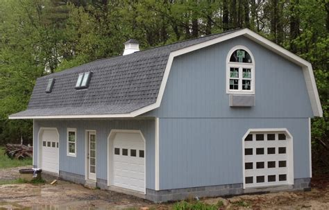 gambrel garage your garage solution delivery installation