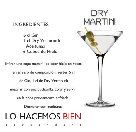 martinis recipes dry recipe