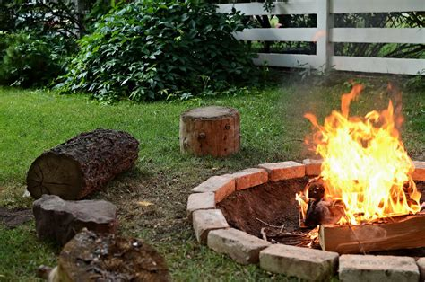 backyard cfire 15 diy fire pit ideas diy formula