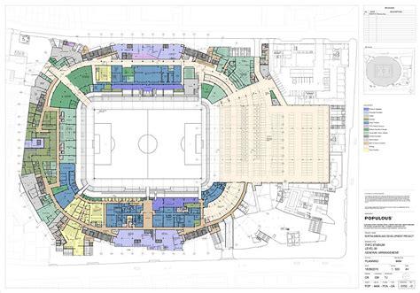 tottenham wembley seating plan away fans usa tottenham reveal new designs for 163 400million stadium