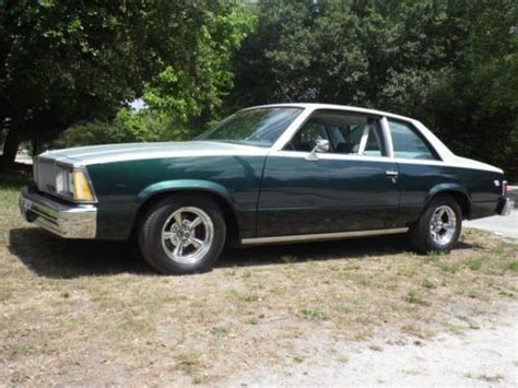 81 chevy malibu for sale purchase new 81 malibu 2 door v 8 factory a c in