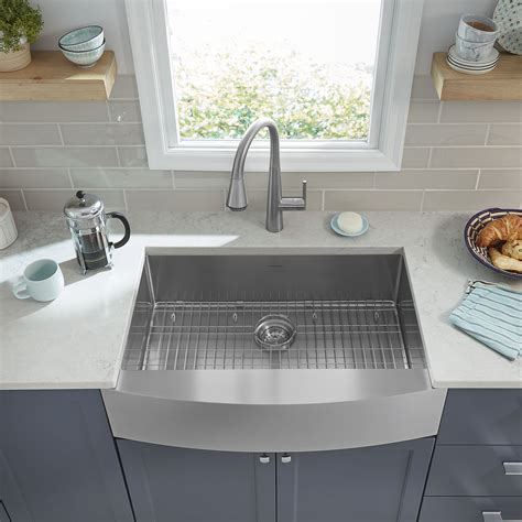 Where To Buy Sinks For Kitchen by Suffolk 33x22 Inch Stainless Steel Farmhouse Kitchen Sink
