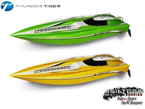 speed boat upgrades thunder tiger releases the olympian speed boat asiatees