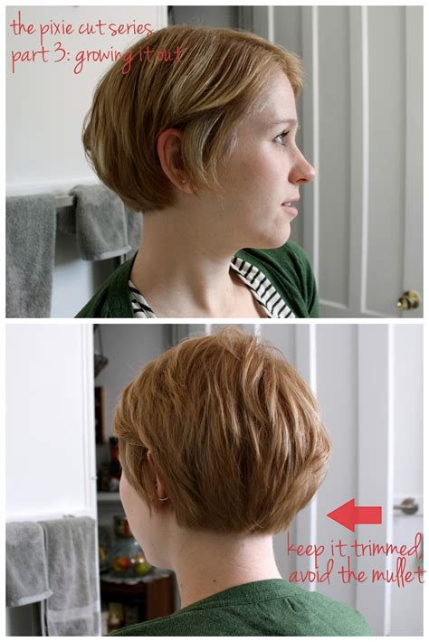 growing out pixie to stacked aline bob using hair clippers for back of stacked bob
