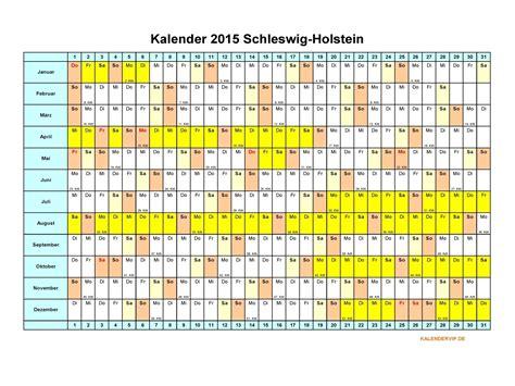 Word Vorlage Jahreskalender 2015 Kalender 2015 Schleswig Holstein Kalendervip